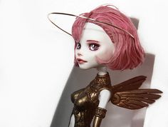 Sky Doll Noa - Monster High C.A. Cupid OOAK by Emannuelle.deviantart.com on @deviantART