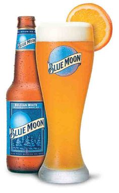 blue moon beer served with orange slice image - Google Search