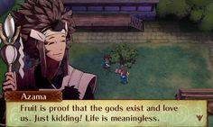 Azama is the strangest monk to ever exist