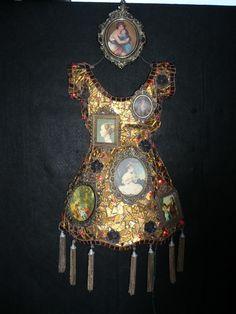 """""""Window 2 my Soul""""  Susan Wechsler mosaic dress"""