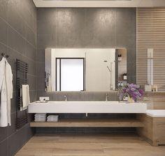 5 motive să alegi gresie tip parchet pentru baie