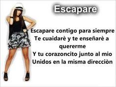 Escapare // Mariana Esposito [Letra Casi Angeles]