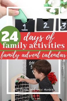 24 Days of Family Activities for a Family Advent Calendar during Christmas Advent Calendar Activities, Kids Calendar, Christmas Activities, Family Activities, Christmas Fun, Advent Calendars, Christmas Recipes, Christmas Planning, Printable Calendar Template