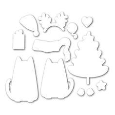 Simon Says Stamp CHRISTMAS CATS Wafer Dies sssd111511 Create Joy