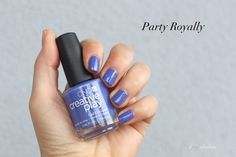 Party Royally, CND Creative Play Nail Lacquer Sunset Bash collection