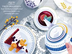 Shop Magazine by Folio Illustration Agency - Dribbble