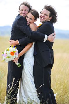 Love the Best Man Sandwich idea. Your fiancé's best friend adores you for numerous reasons: You laugh at all his jokes, you set him up with your cute coworker after a dating dry spell, you don't interrupt their marathon XBox or fantasy sports sessions. But most importantly, you've made his pal the luckiest guy in the entire world by agreeing to marry him. So come here for a hug, already.