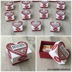 Hallo Ihr Lieben.... Guten Freunden gibt man ein Küsschen! Oder?! Happy Valentin❤️ Heute habe ich ein Ferrero Küsschen Anleitungsvideo für Euch.
