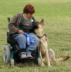 PetsLady's Pick: Loving Assistance Dog Of The Day...see more at PetsLady.com…