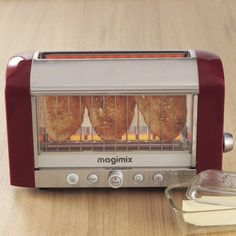 Fancy - Colored Vision Toaster by Magimix
