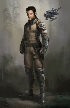 Adam Hoihn, Cursian warrior based in Nitora. Assists the Tongyth with missions in house. Character Concept, Character Art, Concept Art, Science Fiction, Star Wars Characters, Fantasy Characters, Keanu Reeves, Rpg Cyberpunk, Drones