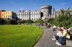 The Dubh Linn Gardens at Dublin Castle http://thingstodo.viator.com/dublin/dubh-linn-gardens/