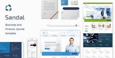 Sandal is is an impressive finance & consultancy business Joomla template designed for professional services
