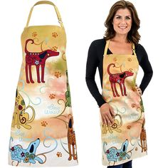 Festival Dogs Apron On Sale $8.99 - Your purchases make a difference worldwide by benefiting people, animals and the planet.