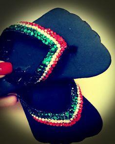 Italian Swavorski Crystal Flip Flops by fancyflop on Etsy, $100.00