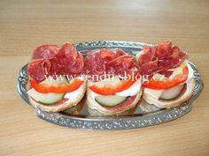 POHOŠTĚNÍ-obložené chlebíčky - Rendiny stránky Sushi, Cooking, Ethnic Recipes, Kitchen, Brewing, Cuisine, Cook, Sushi Rolls