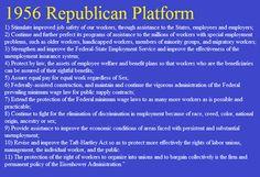 1956 Republican Platform