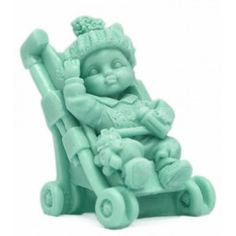 Moldes para hacer jabón carrito de bebé para jabon bautizo.