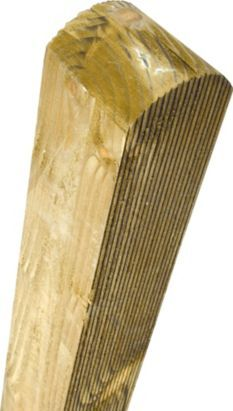 Grange Elite Timber Fence Post Pale (H)1.8m x (W)70mm - Pack of 6, 5019063803676 £90