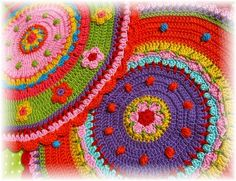 Cö Ser: solo cojines, pillow a crochet
