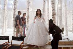 mirror mirror lily collins  | Mirror, Mirror' Behind the scenes photos - Lily Collins Photo ...