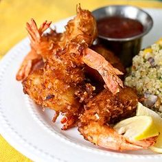 Beer-Battered Coconut Shrimp