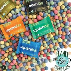 Head over to @squarebars to get free Seedles with your earth day order! Such a yummy combo birds bees and nut butter treats! #seedles