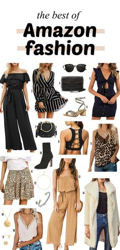 So many great outfit finds! // Fashion blogger Michelle Kehoe of Mash Elle shares the best affordable outfit finds from Amazon. A roundup of the best dresses, sweaters, jumpsuits, rompers, purses, handbags, shoes sunglasses, tops, pants, jeans, jewelry and more! The best fall fashion for the everyday girl. #fallfashion #fallaccessories #casualfashion#style #designerfashiondupe #designerbagdupe #dupes
