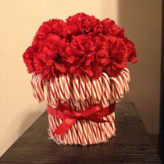 Candy Cane Centerpiece :)