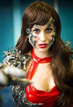 Wondercon 2012 – Sara Pezzini // Witchblade   Flickr - Photo Sharing! Witchblade Cosplay, Michael Turner, Film Base, Ms Marvel, Image Comics, Feature Film, Supergirl, Most Beautiful, Wonder Woman