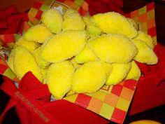 """Пирожное """"Лимончики"""" - эффектно и оригинально!"""