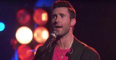 Watch Adam Levine Cover Fleetwood Mac's 'Go Your Own Way' on 'The Voice' #headphones #music #headphones