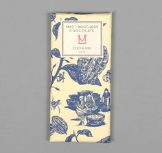 "MAST BROTHERS CHOCOLATE :: ""COCOA NIBS"" CHOCOLATE BAR"
