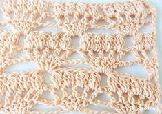 puntos fantasía a crochet