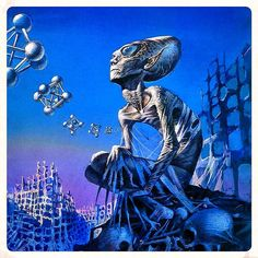 Sad To The Bone. Art by Bruce Pennington by pulpster