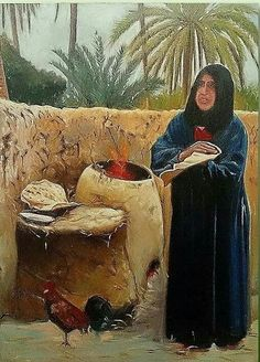 Iraqi art by Iraqi artist mhamad alkhasraje Middle Eastern Art, Iranian Art, Painter Artist, Arabic Art, Indian Paintings, Egyptian Art, Art Oil, Islamic Art, Beautiful Paintings