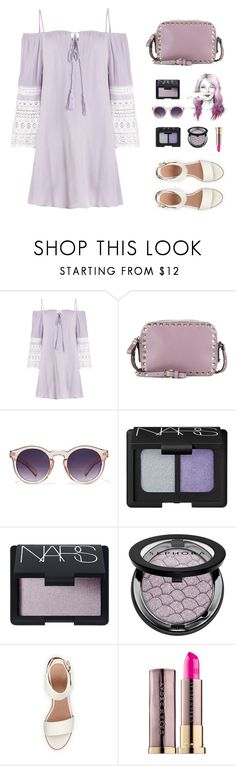"""""When there's nowhere else to turn, turn inward. Enter into the sacred silence of your soul and ask for healing, guidance and personal space."" -Michaiel Bovenes"" by are-you-with-me ❤ liked on Polyvore featuring Valentino, NARS Cosmetics, Sephora Collection, BEA and Urban Decay"