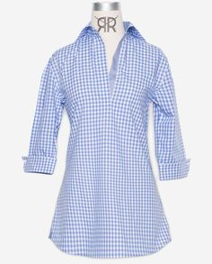Tunic - Blue Gingham