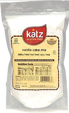 Katz Gluten Free Cake Mix, Vanilla, 7 Pound (Pack of 6) ** Be sure to check out this awesome product.