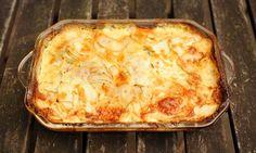 Celeriac and potato gratin recipe
