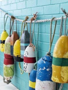 Boat buoy decor at Watson's Bay Hotel, Sydney, Australia