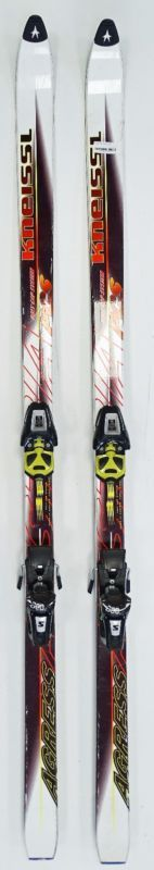Kneissl Agress Alpin Ski mit Salomon Bindung Klassischer Ski 180cm