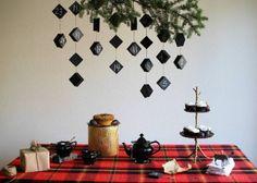Advent Calendar Chalkboard Boxes