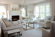 Beautiful, neutral living room