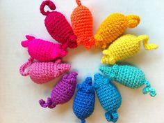 Easy Peasy Catnip Mouse Toy Free Amigurumi Pattern