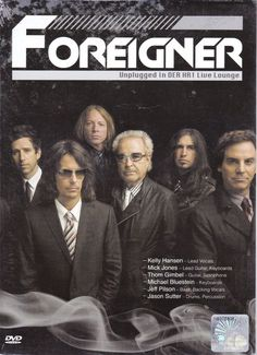 THE FOREIGNER Unplugged In DER HR1 Live Lounge DVD NEW NTSC PAL Region All