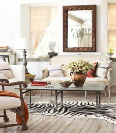 Animal Rugs For Living Room Caribbean Decorating Ideas Rooms 60 Best Zebra Rug Images Skip The Faux Zebras Area Decor