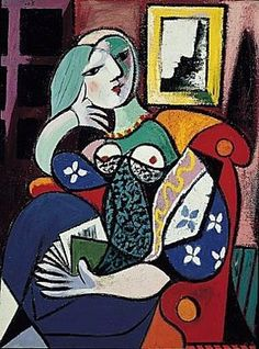 Pablo Picasso, Woman with a Book, 1932