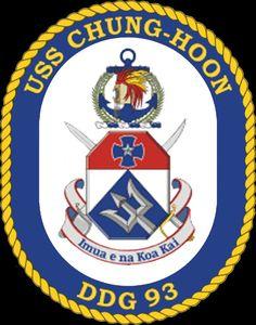 USS CHUNG-HOON (DDG-93)