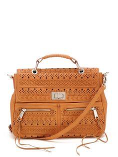 Love, love, love this bag! $550, Perf Weave Lyric